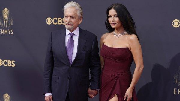Emmys 2021 Couples Catherine Zeta Jones Michael Douglas