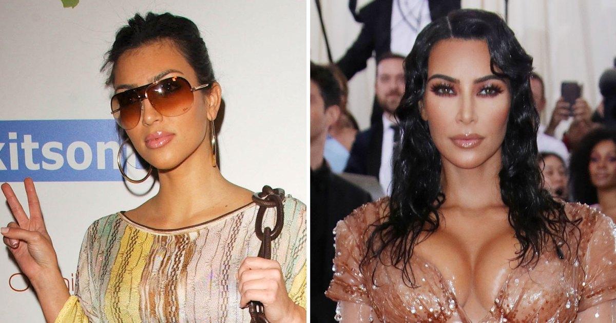 How Kanye West Influenced Kim Kardashian's Style Through the Years