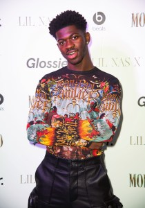 Lil Nas X shares baby registry to support charities.