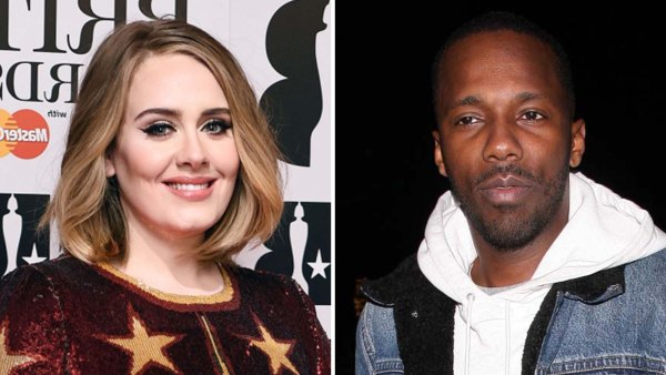 Plus 1 Adele BF Rich Paul Looked Happy Together Friends Wedding