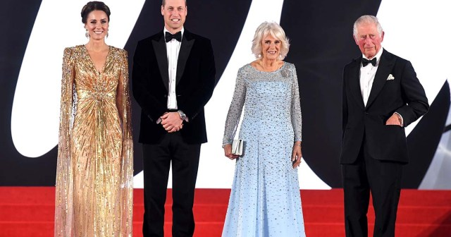 Red Carpet Royalty! Duchess Kate, Prince William and More Stars Stun at the 'No Time To Die' Premiere.jpg