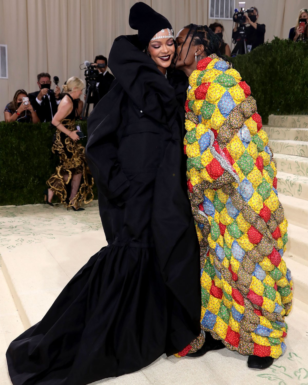 Met Gala 2021: Rihanna, A$AP Rocky Arrive Late Together