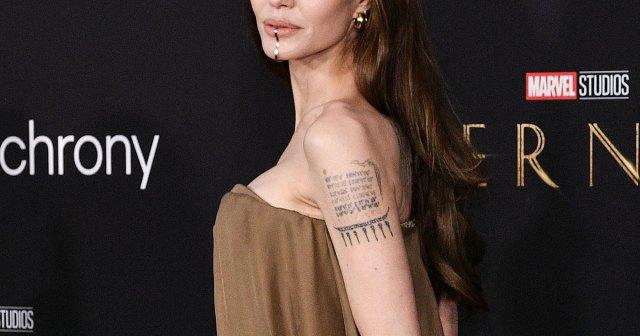 Angelina Jolie Brings 5 of Her Kids to 'Eternals' Premiere in Coordinating Looks: Photos.jpg