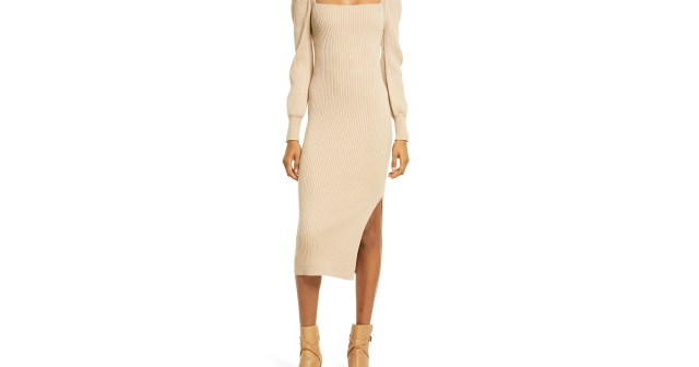 Shoppers Say Not to Underestimate This Stunning Sweater Dress.jpg
