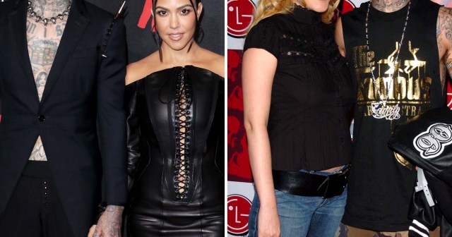 Every Time Travis Barker's Relationship With Kourtney Kardashian Resembled His Marriage to Shanna Moakler.jpg