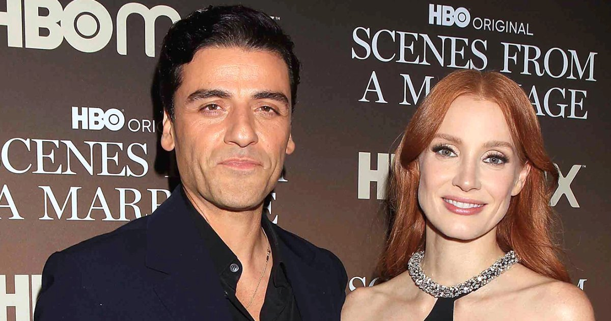 Jessica Chastain Shares Her 1 Rule for Doing Nude Scenes With Oscar Isaac in 'Scenes From a Marriage'