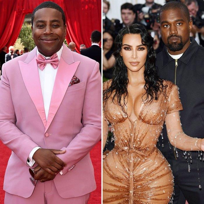 Kenan Thompson says Kenny West almost joined Kim Kim Kardashian.