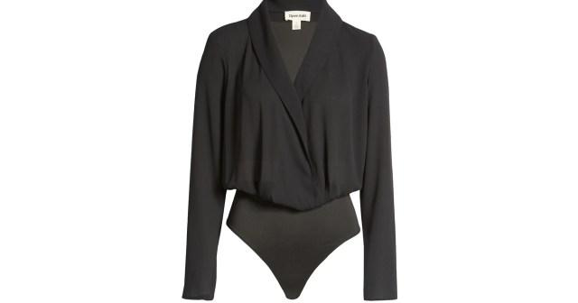 This Sleek Wrap Bodysuit Actually Has Tummy Control Built In.jpg