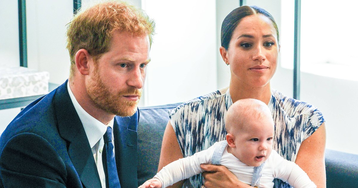 Prince Harry and Meghan Markle Turned Down Title for Archie Over 'Mockery' Fear at School, Says Royal Expert