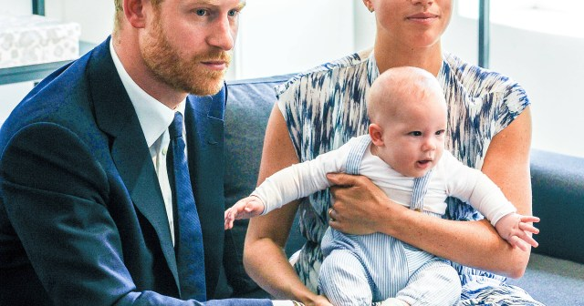 Prince Harry and Meghan Markle Turned Down Title for Archie Over 'Mockery' Fear at School, Says Royal Expert.jpg