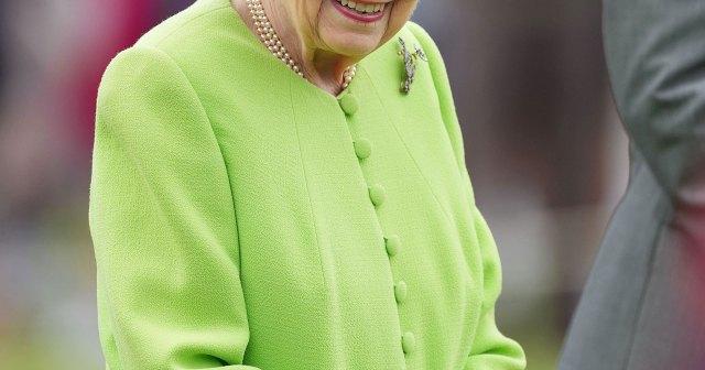 Queen Elizabeth II Returns to Work at Windsor Castle After Hospitalization.jpg