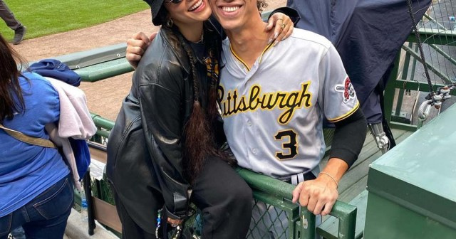 Vanessa Hudgens and Cole Tucker Are 'Going Strong' Despite Conflicting Schedules: They 'Talk All the Time'.jpg