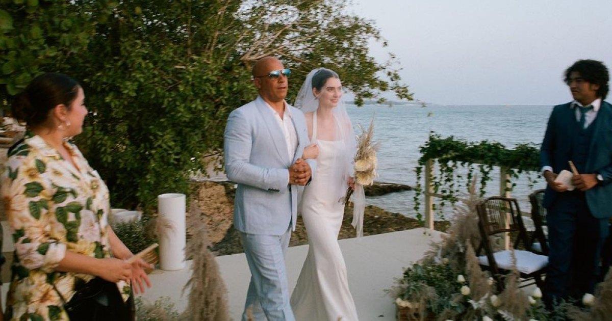 Paul Walker's Daughter Meadow Walker Gets Married and Vin Diesel Walks Her Down the Aisle