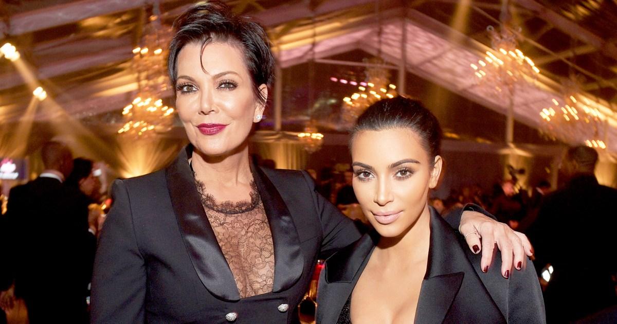 Sensational New Book Claims Kris Jenner Leaked Kim -2392
