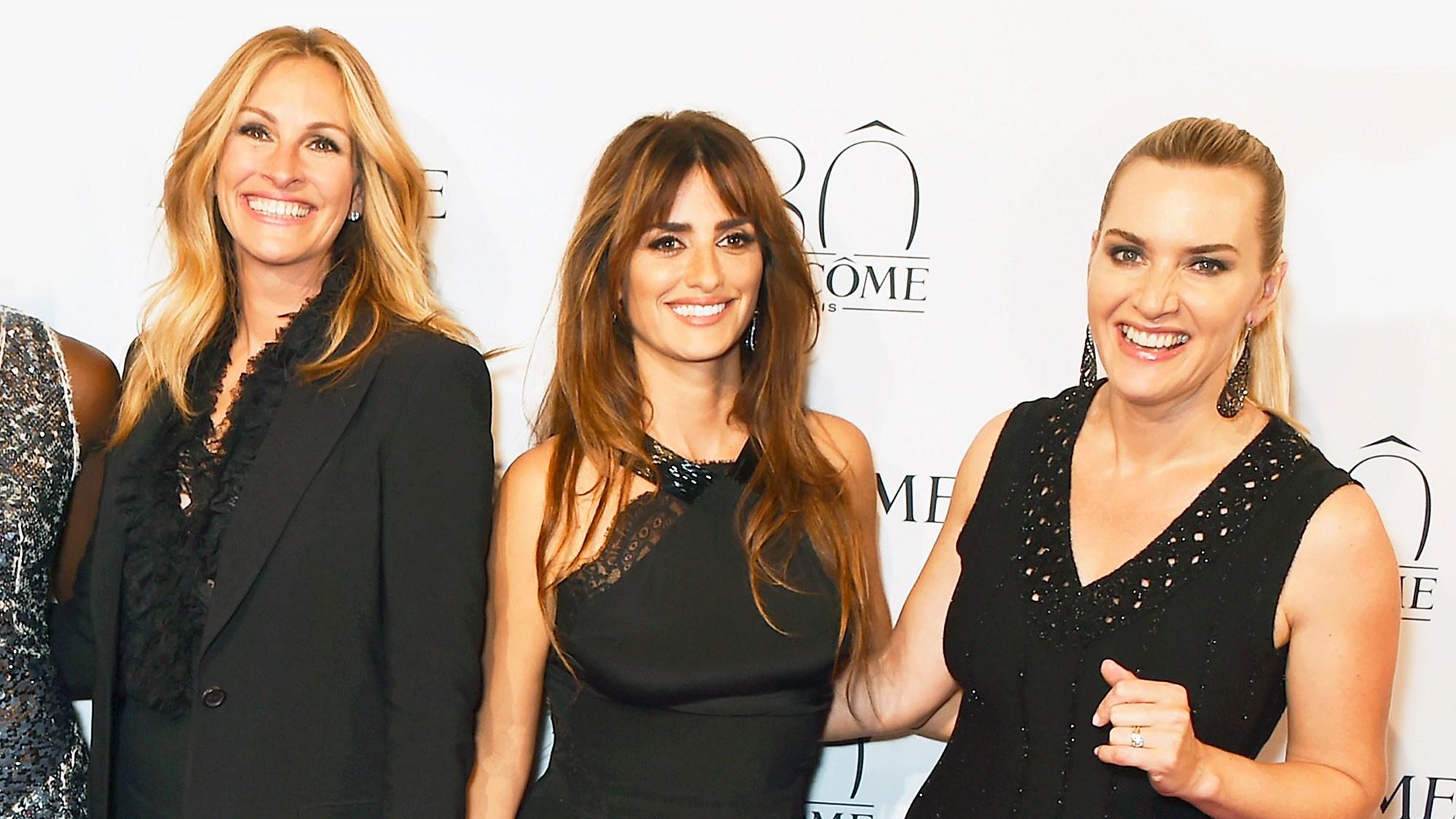 Julia Roberts, Penelope Cruz and Kate Winslet