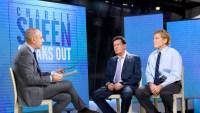Matt Lauer, Charlie Sheen and Dr. Robert Huizenga