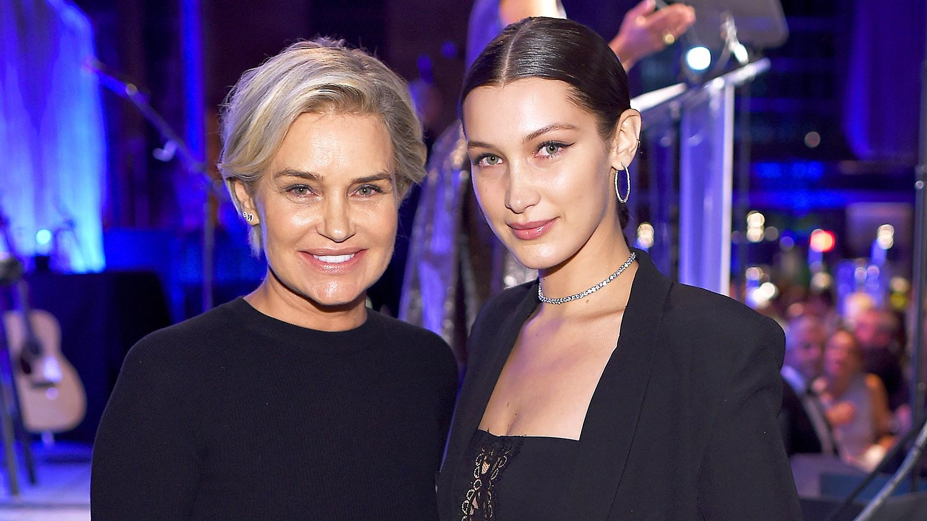 Bella Hadid and Yolanda