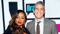 Phaedra Parks and Andy Cohen