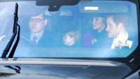 Prince William, Prince George, Kate Middleton and Prince Harry