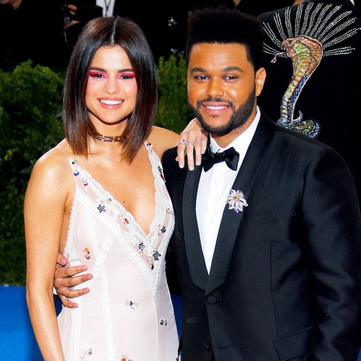 The Weeknd Boasts About Girlfriend Selena Gomez With Sexy ...