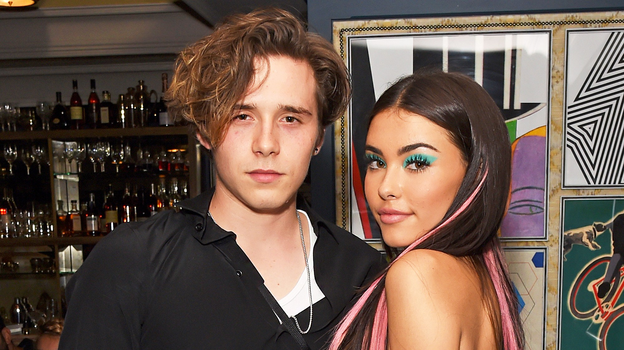 Brooklyn Beckham and Madison Beer
