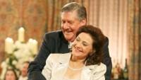 Kelly Bishop and Edward Herrmann