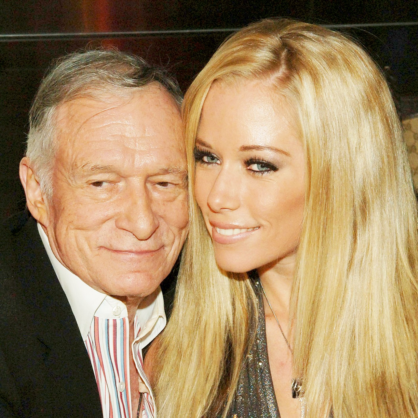 Hugh Hefner and Kendra Wilkinson