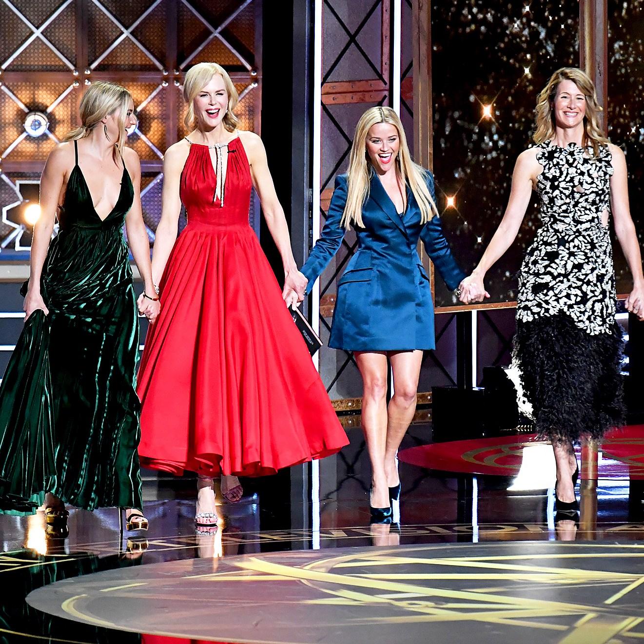 Shailene Woodley, Nicole Kidman, Reese Witherspoon, Laura Dern and Zoe Kravitz
