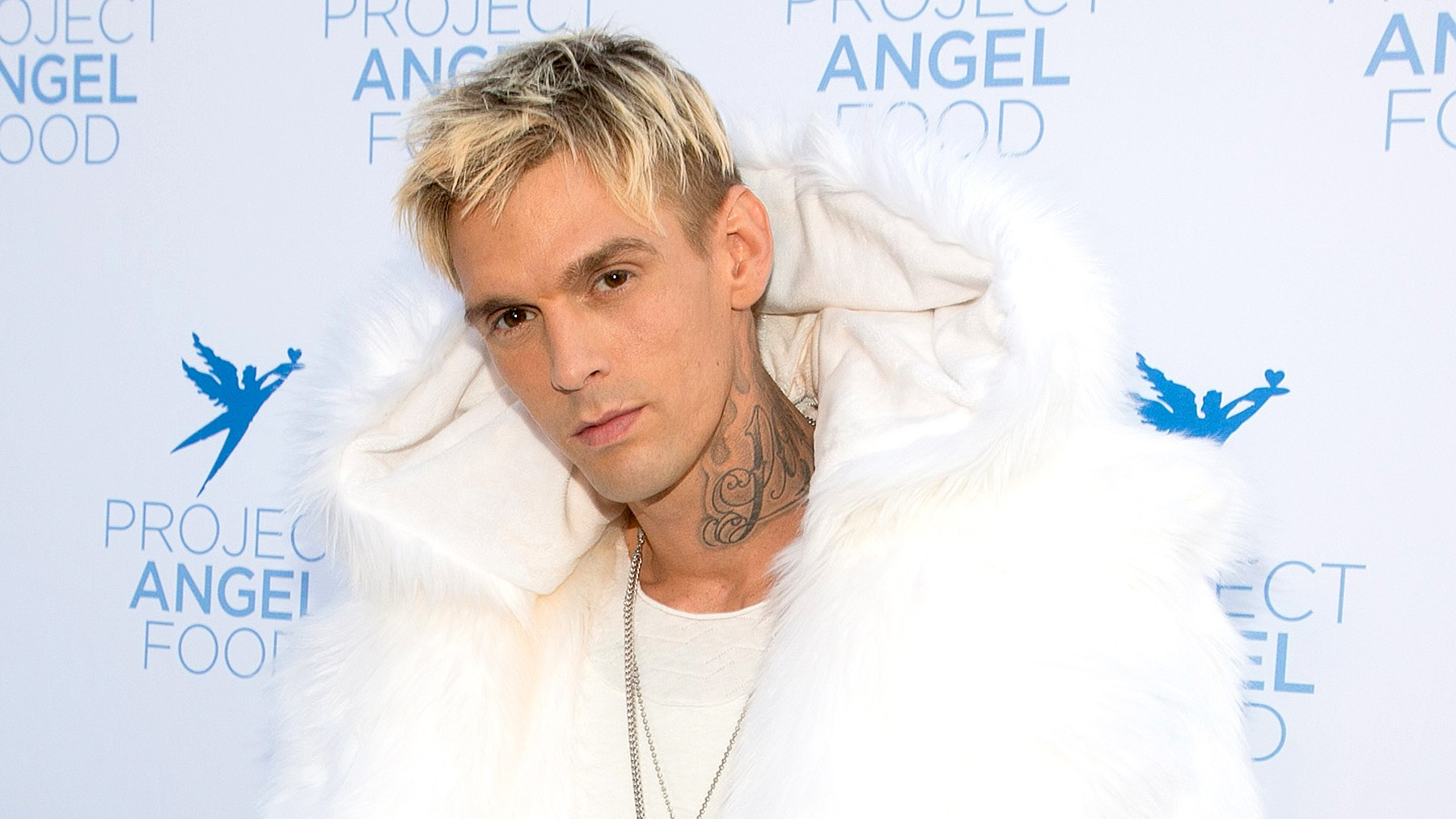 Aaron Carter attends Project Angel Food's 2017 Angel Awards at Project Angel Food on August 19, 2017 in Los Angeles, California.