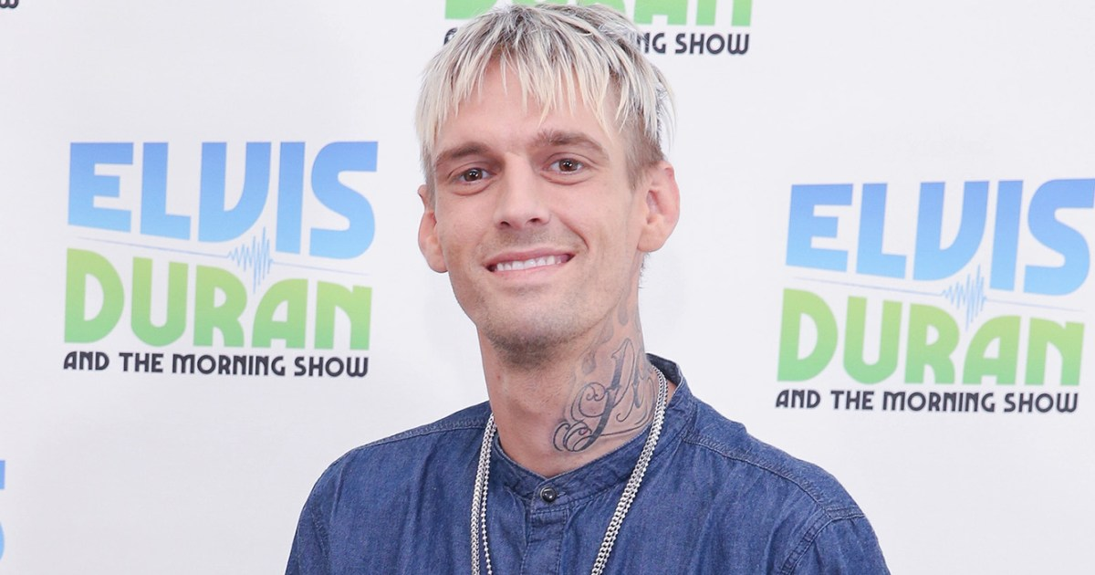 Aaron Carter Opens Up About How Rehab Changed His Life ...
