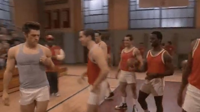 Aaron Tveit's tiny shorts in 'Grease: Live'