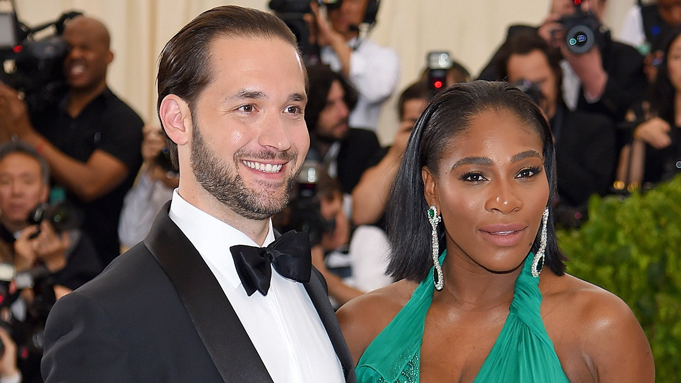 Alex Ohanian and Serena Williams
