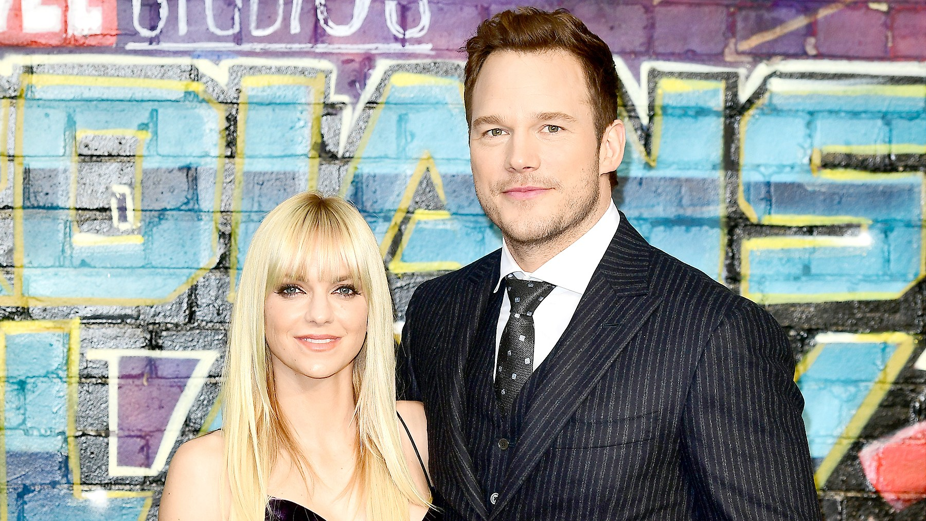 Chris Pratt and Anna Faris attend the European Premiere of Guardians of the Galaxy Vol. 2 held at the Eventim Apollo, London, April 24, 2017.