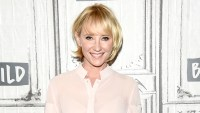 Anne Heche attends the Build Series to discuss the new show 'The Brave' at Build Studio on September 25, 2017 in New York City.