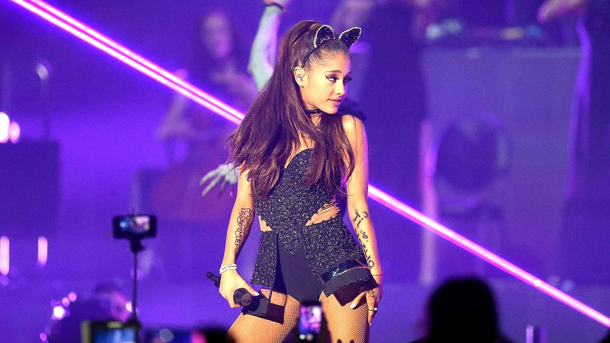 Ariana Grande performs at Mediolanum Forum on May 25, 2015 in Milan, Italy.