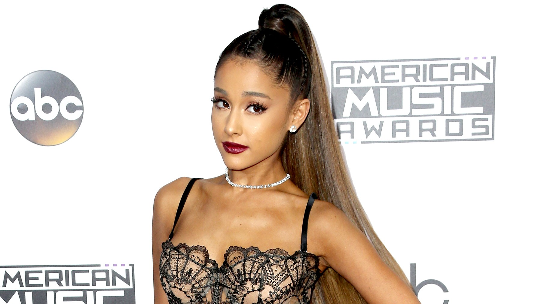 Ariana Grande attends the 2016 American Music Awards at Microsoft Theater on November 20, 2016 in Los Angeles, California.