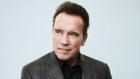 Arnold Schwarzenegger of 'The New Celebrity Apprentice' poses for a portrait in the NBCUniversal Press Tour portrait studio at The Langham Huntington, Pasadena on January 18, 2017 in Pasadena, California.
