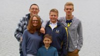 Autumn Brandon and family