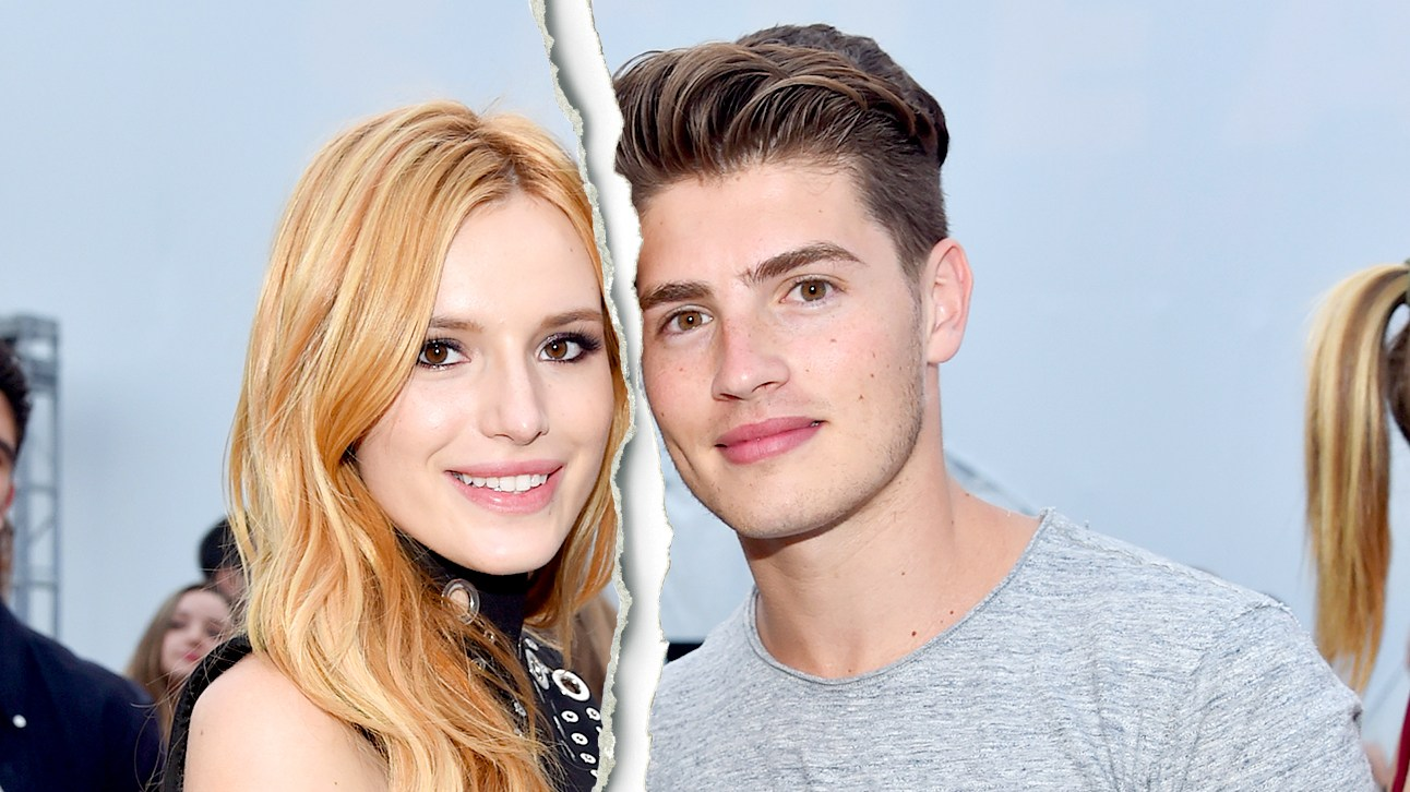"""Bella Thorne and Greg Sulkin attend the MTV and Dimension TV premiere of """"Scream"""" at the Los Angeles Film Festival on June 14, 2015 in Los Angeles, California."""