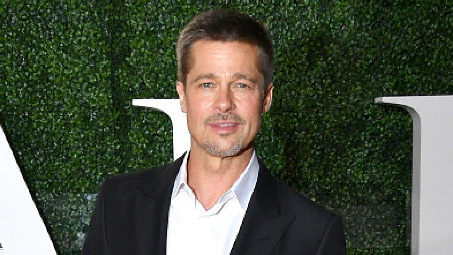 Brad Pitt at an Allied fan event