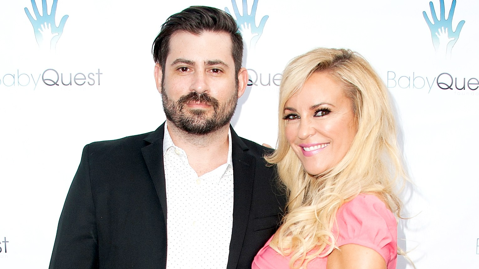 "Bridget Marquardt and Nick Carpenter arrive at the 2nd Annual ""Let's Make A Baby"" Fundraiser Gala on May 19, 2016 in Toluca Lake, California."