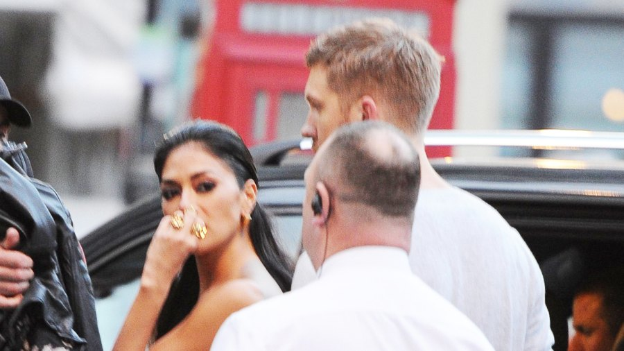 Nicole Scherzinger and Calvin Harris