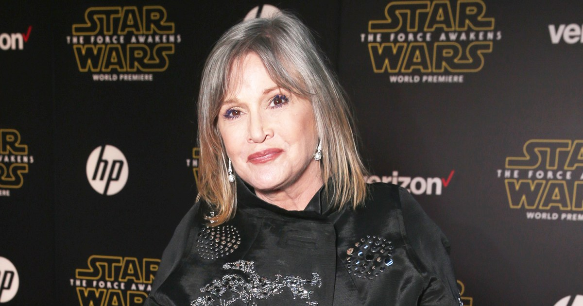 carrie fisher dead