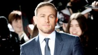 Charlie Hunnam arrive at The Lost City of Z UK premiere on February 16, 2017 in London, United Kingdom.