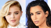 Chloe Grace Moretz and Kim Kardashian