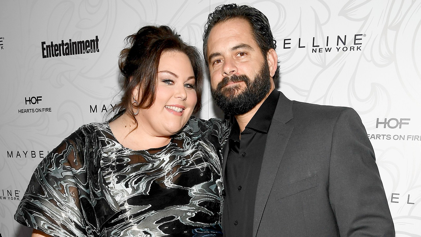 Chrissy Metz and Josh Stancil attends the Entertainment Weekly Celebration of SAG Award Nominees sponsored by Maybelline New York at Chateau Marmont on January 28, 2017 in Los Angeles, California.