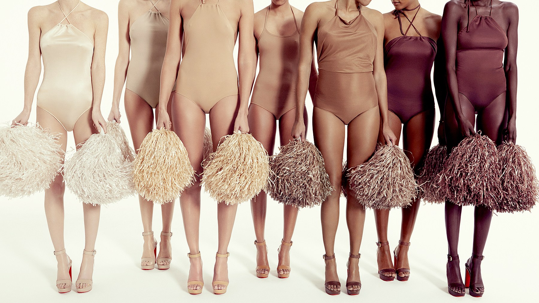 Christian Louboutin's Nudes Collection