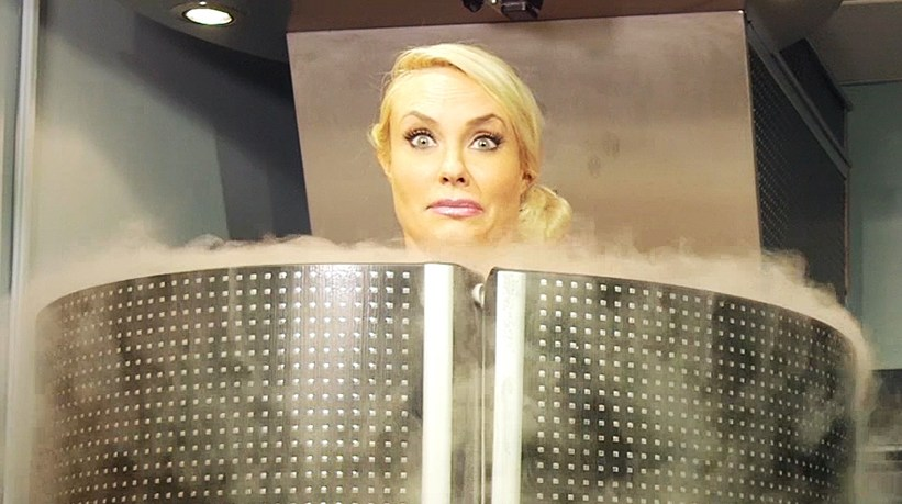 Coco Austin Cryotherapy