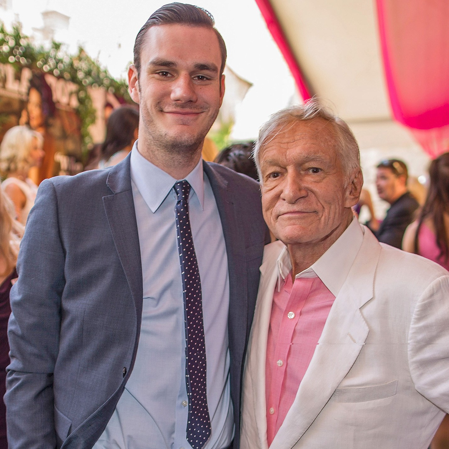 Cooper Hefner, Hugh Hefner, Playboy, 2013 Playmate Of The Year Luncheon