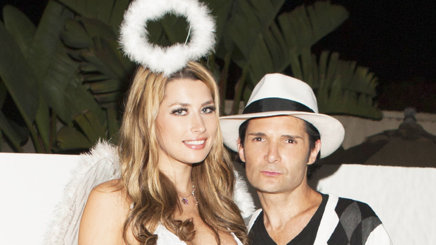 Courtney Anne and Corey Feldman